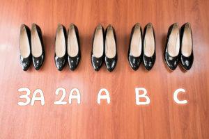 シュープレモ細幅靴試着 札幌 シューメイク絢子