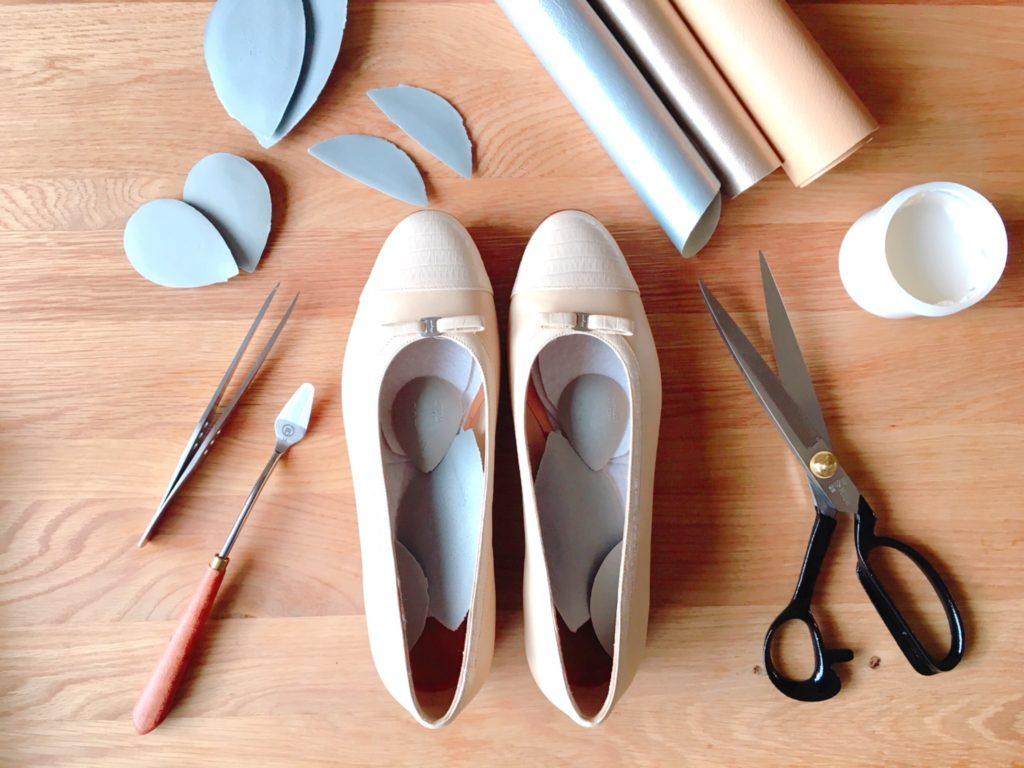 靴の再調整 シュープレモ 札幌 chou make ayako シューメイク絢子